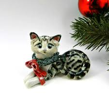 24 best cat ornaments images on ornaments