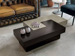 black brown coffee table target point tetris contemporary coffee table in black and white or