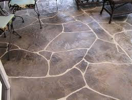 2017 Stamped Concrete Patio Cost Stamped Concrete Patio Cost Home Design Ideas