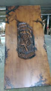 Sons Of Anarchy Meeting Table Sons Of Anarchy Post Explosion Clubhouse Meeting Table By Maxwell