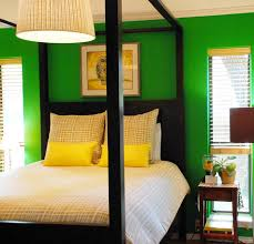 Bright Green Bright Yellow Scrumptious Bed Home Inspiration - Bright colored bedrooms
