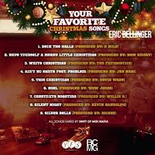 new music eric bellinger your favorite christmas songs ep