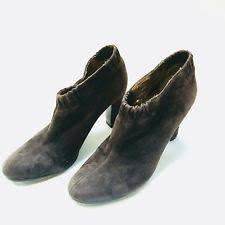 s suede ankle boots size 9 sam edelman suede pull on ankle boots for ebay