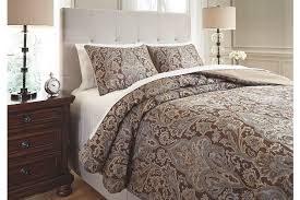 Blue And Brown Bedroom Set Comforters Ashley Furniture Homestore