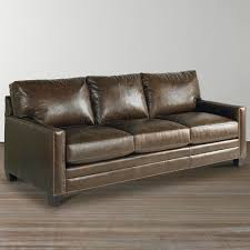 hgtv home design studio at bassett cu 2 cocoa leather american casual ladson great room sofa