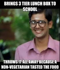 Memes Vegetarian - 14 things non vegetarian people are tired of hearing youth connect