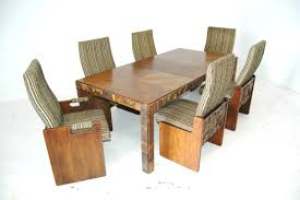 lane furniture dining room brutalist mid century dining table and chairs in the style of paul
