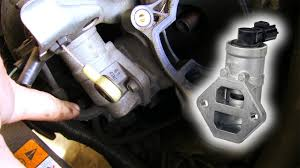 how to clean u0026 replace idle air control valve ford duratec he