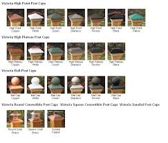 decorative wood post caps for wood fence posts hoover fence company
