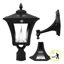 Solar Powered Outdoor Lights by Weston Solar Light Plus Motion Sensor Gs 53fpw Pir Gamasonic