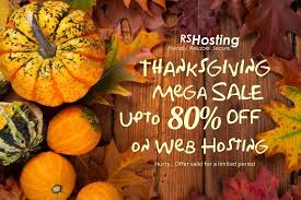 happy thanksgiving bumper discount upto 80 on web hosting