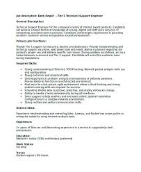 technical support engineer resume good teachers resume format