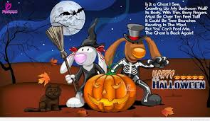 Halloween Poems Short Funny Childrens On Halloween Quotes And Sayings
