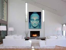 Buddha Room Decor Buddha Painting Home Decor Wall Hanging Buddha Wall