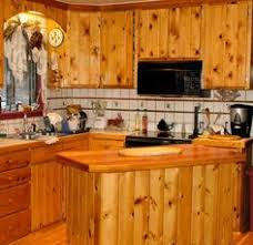 Nice Big Kitchen With Knotty Pine Kitchen Cabinets Stainless - Rustic pine kitchen cabinets