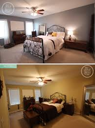 bedroom makeovers before and after home