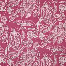 manuel canovas pali lin fabric in rose cowtan design library
