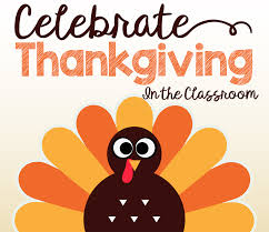 Thanksgiving In The Classroom Celebrate Thanksgiving In The Classroom With A Thankful Card And