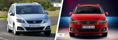 seat alhambra u2013 old vs new compared carwow