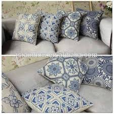 sofa cushion cover replacement 2016new vintage print cotton sofa cushion cover replacement pillow