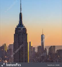 manhattan skyline new york city manhattan skyline in sunset stock image i4534480 at