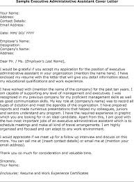 cover letter sample administrative assistant email throughout 17