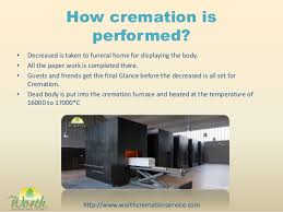 cremation procedure procedure of cremation