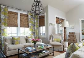 Floor To Ceiling Curtains Decorating Tracery Interiors Beachy Condo With Cool Gray Walls Paint Color