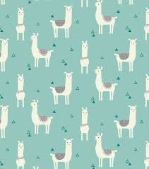 Halloween Flannel Fabric Snuggle Flannel Fabric Tossed Llama Teal Fabrics Babies And