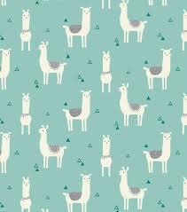 snuggle flannel fabric tossed llama teal fabrics babies and
