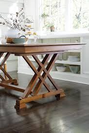 heyerly trestle dining table from dutchcrafters amish furniture