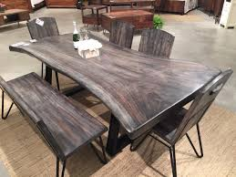 dining tables for sale live edge walnut table horizon home furniture