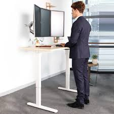 Electric Height Adjustable Computer Desk Electric Height Adjustable Desks Standard Option Flexispot