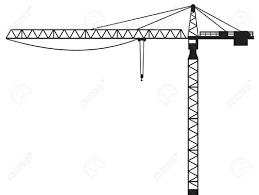 15039836 crane building crane tower crane stock vector