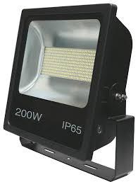 200w led flood light 200w smd led floodlight black 6500k w photocell