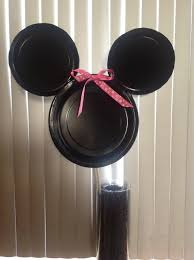 mickey mouse decorations how to make a simple minnie or mickey mouse decoration snapguide