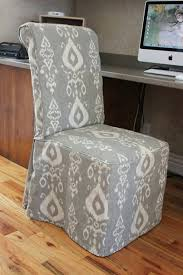 dining chairs slipcovers for dining room chairs without arms