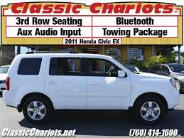 do all honda pilots 3rd row seating sold used family vehicle near me 2011 honda pilot ex with