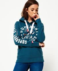 womens hoodies shop hoodies for women online superdry