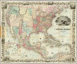 United State Of America Map by Color Map United States America On Stock Illustration 67753627