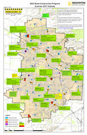 Beaverton Oregon Map by 2014 Bond Measure Information