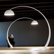 floor standing lamp original design metal arc 1962 by