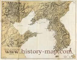 China River Map by China War Map
