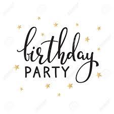 happy birthday simple design happy birthday invitation sign quote typography calligraphy