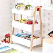 bookcase childrens bookcase with storage bins nursery bookcase