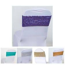 spandex chair sash wedding sashes ebay