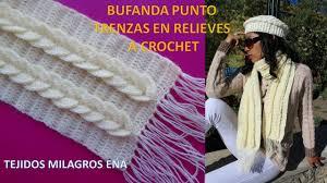 bufandas mis tejidos tejer en navidad manualidades navidenas bufanda bufanda o chalina trenzas en relieves tejida a crochet o ganchillo