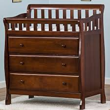 cherry changing table dresser combo convertible changing table dresser simmons kids slumbertime emma 4