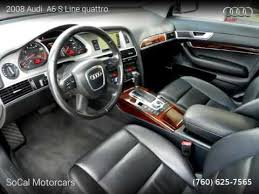 so cal audi 2008 audi a6 s line quattro socal motorcars