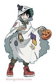 draw halloween boku hero academia mangajam